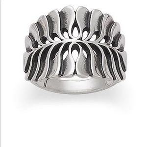James Avery Mimosa Leaf Ring